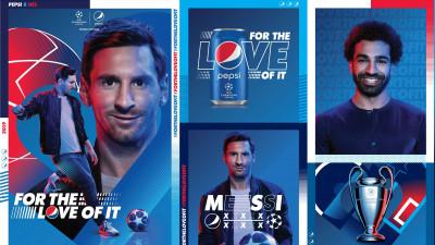Leo Messi și Mohamed Salah dau ce au mai bun #DINPASIUNE pentru Pepsi. Noua campanie globală pentru UEFA Champions League 2019