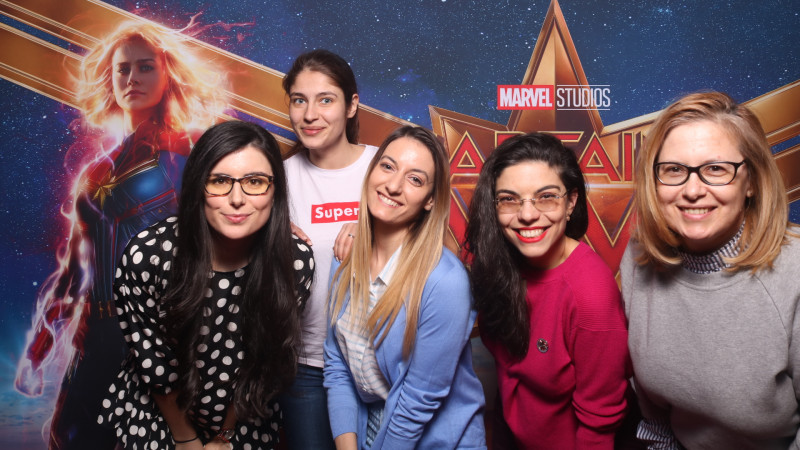 Captain Marvel merge mai sus, mai departe, mai rapid