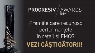Industria de retail și FMCG și-a desemnat câștigătorii la Progresiv Awards