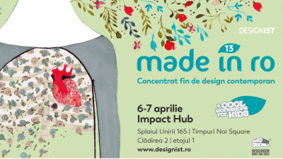Târgul Made in RO – Concentrat fin de design contemporan, ediția #FlowerPower