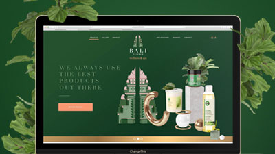 Website - Bali Temple