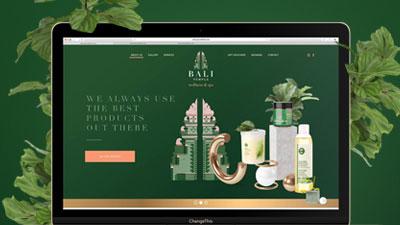 Website - Bali Temple
