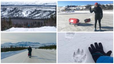 """Vlad Pop, după 193 de kilometri la Polul Nord: """"N-am alergat cu picioarele, am alergat cu sufletul"""""""