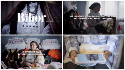 "Printre ecourile campaniei ""Bihor Couture"""