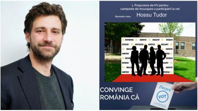 [Convinge Romania] Tudor Hossu si propunerea unui traseu duminical: de pe covorul rosu, in sectia de votare