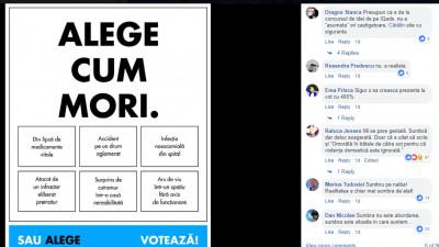 Uite ce se întâmplă când încerci să convingi oamenii să voteze