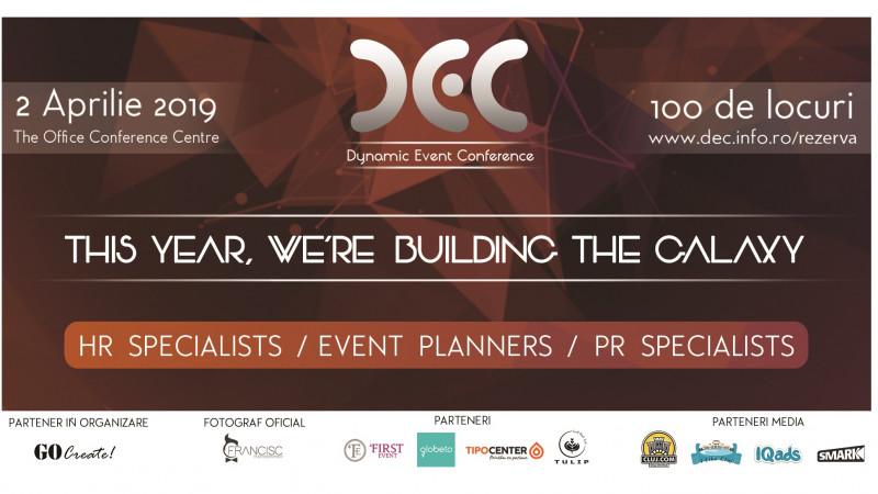 Cei mai buni specialişti în Event Planning vor da viaţă galaxiei Dynamic Event Conference