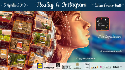 Reality vs Instagram. Conferința World of Instagram  - Ediția a VII-a