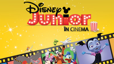 Premieră la Cinema City: Eroii Disney Junior vin pe marele ecran