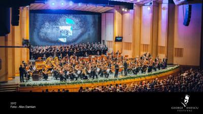 Peste 8000 de bilete vândute la Festivalul Enescu în primele 45 de minute