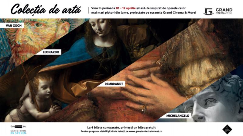 """Operele celor mai mari pictori ai lumii pot fi văzute la Grand Cinema & More în cadrul seriei de documentare """"Colecția de artă"""""""