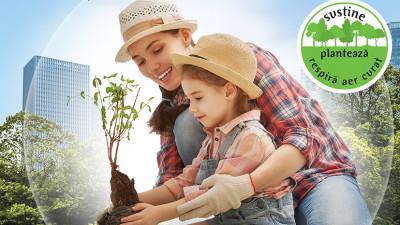 Unilever - Planteaza un copac si ofera-l cuiva drag!