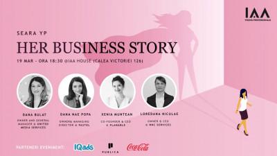 IAA Young Professionals organizează prima Seară YP dedicată Antreprenoriatului feminin