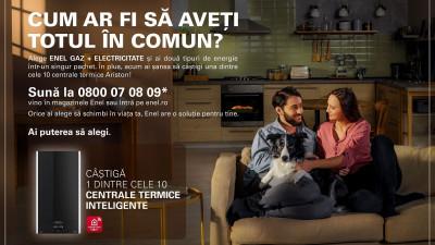 """Enel România lansează o nouă campanie de comunicare sub platforma creativă """"Ai puterea să alegi"""""""