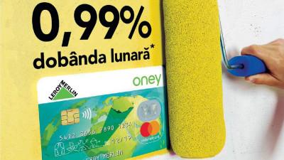LEROY MERLIN și Oney Bank lansează creditul cu dobandă 0.99%