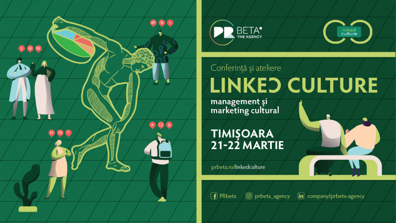 Vino la Conferința Linked Culture - Management și Marketing Cultural