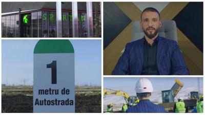 Romania vrea autostrazi. Iar Stefan Mandachi, antreprenor satul de promisiuni, ne invita la un protest