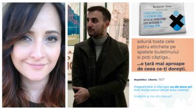 [Convinge Romania] Trei propuneri via Natalia Stefanescu si Catalin Gazdac: gamification cu timbrul de vot, Romania in 2029 si fraude electorale istorice
