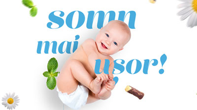 Campanie online, social media & materiale - Baby Drink