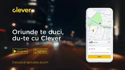 Clever Taxi - Oriunde te duci, du-te cu Clever