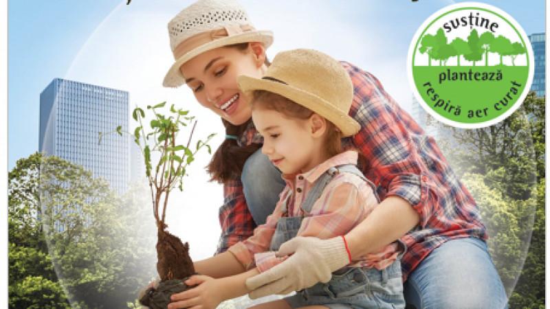 """Unilever lansează campania """"Plantează un copac și oferă-l cuiva drag!"""" alături de Plantăm fapte bune în Romania și Mega Image"""