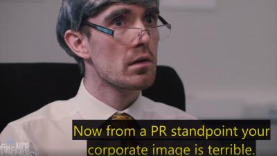 Evil Corporate Advertising. Acum, cu raspunsuri concrete la toate problemele de imagine ale unui brand