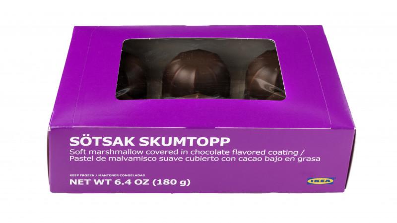 IKEA recheamă prăjiturile de bezea SÖTSAK SKUMTOPP, 180g, din cauza declarării neclare a laptelui ca produs alergen în lista de ingrediente