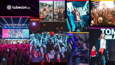 Tubecon, cel mai mare eveniment european dedicat vloggerilor, se lansează și în România
