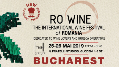 RO-Wine | The International Wine Festival of Romania, București, 25-26 mai 2019