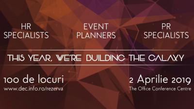 Dynamic Event Conference a însemnat construcție – de oameni, de cunoștințe, de galaxii