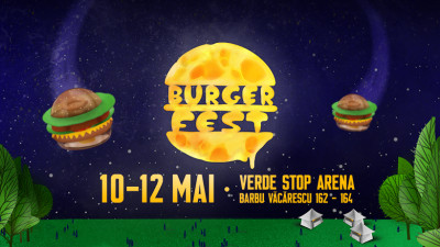 Indie, electro, rock alternativ și electro blues la BURGERFEST 2019