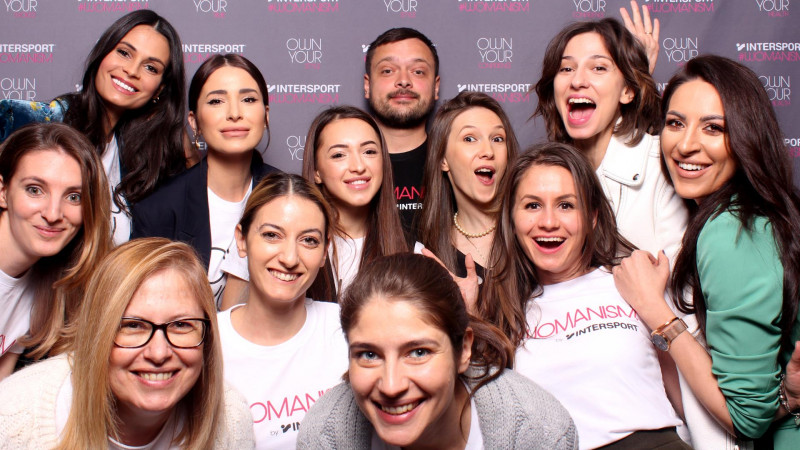 """INTERSPORT lansează manifestul #WOMANISM și plasează pe podium toate femeile, """"sportivele"""" vieții moderne, printr-o nouă filozofie de empowerment"""