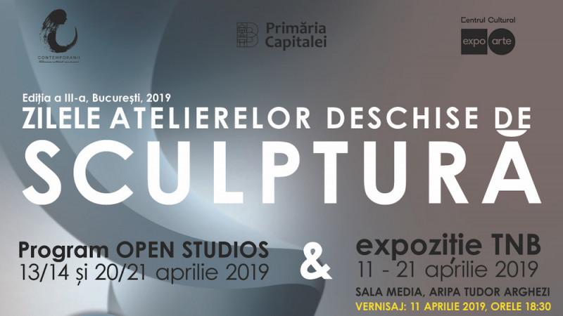 Zilele Atelierelor Deschise de Sculptură continuă în weekendul 20-21 aprilie 2019