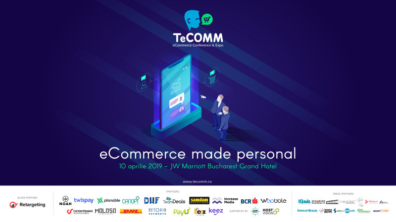 Mâine are loc TeCOMM București, evenimentul dedicat magazinelor online