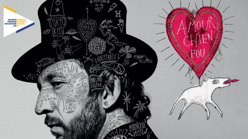 Poezie și muzică sub semnul Sezonului franco-român – Arthur H în premieră în România