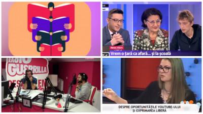 [România pe YouTube] Jurnalismul, fotografia, influencerii și istoria surzilor