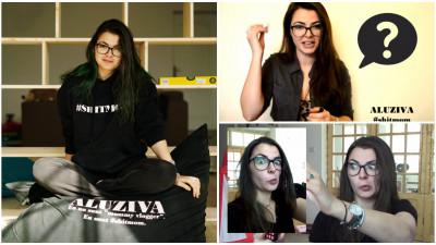 [România pe YouTube] Aluziva: Nu încerc să par perfectă. Eu am celulită, cearcăne, vergeturi, tatuaje, cercel în nas, înjur și vorbesc romgleză