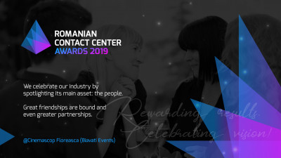 Noi standarde de excelenta in cadrul industriei de Customer Care, premiate la 'Romanian Contact Center Awards Gala 2019'