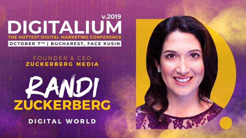 Randi Zuckerberg in ROMANIA at DIGITALIUM 2019