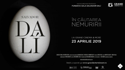 Megalomanie, extravaganță și genialitate. Grand Cinema & More aduce la viață fascinanta poveste a excentricului artist Salvador Dali