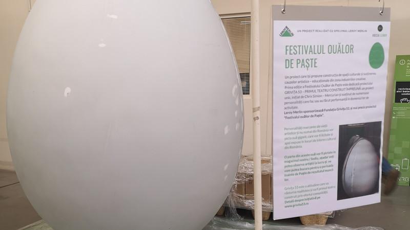 Leroy Merlin susține proiectul Grivița 53 și Festivalul Ouălor de Paște