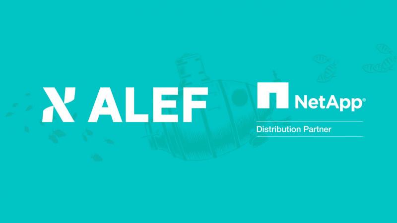 ALEF Distribution devine unicul distribuitor al NetApp din Europa Centrală și de Est