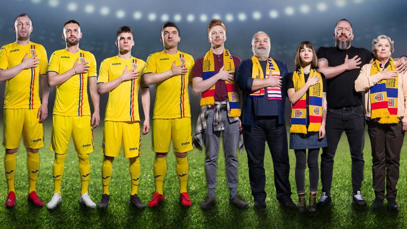 Împreună suntem echipa României. O campanie Saatchi&Saatchi + The Geeks pentru FORTUNA și Echipa Naționala de Fotbal