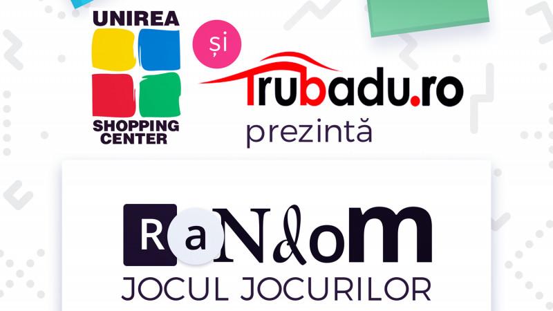 """Nu lăsa distracția la voia întâmplării. Trubaduro lansează """"Random"""", un joc unic in România"""