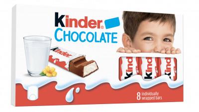 Kinder Chocolate lansează o nouă identitate vizuală
