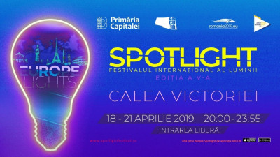 BeeHive, instalația One Night Gallery la Festivalul Internațional al Luminii București – Spotlight