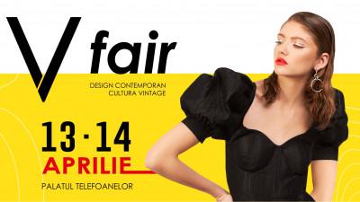 V fair #22 - târg de design contemporan și cultură vintage