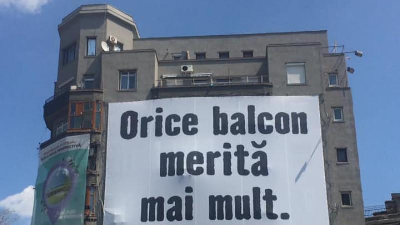 Şi ţop cu politica în balcon