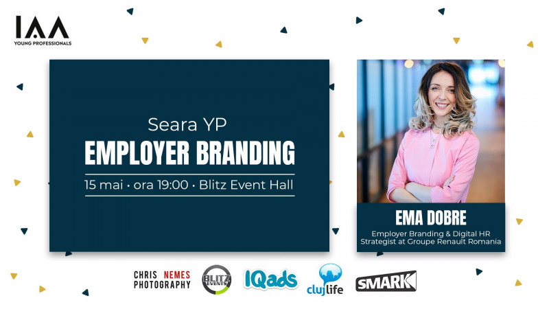 IAA Young Professionals Cluj organizează un eveniment despre Employer Branding