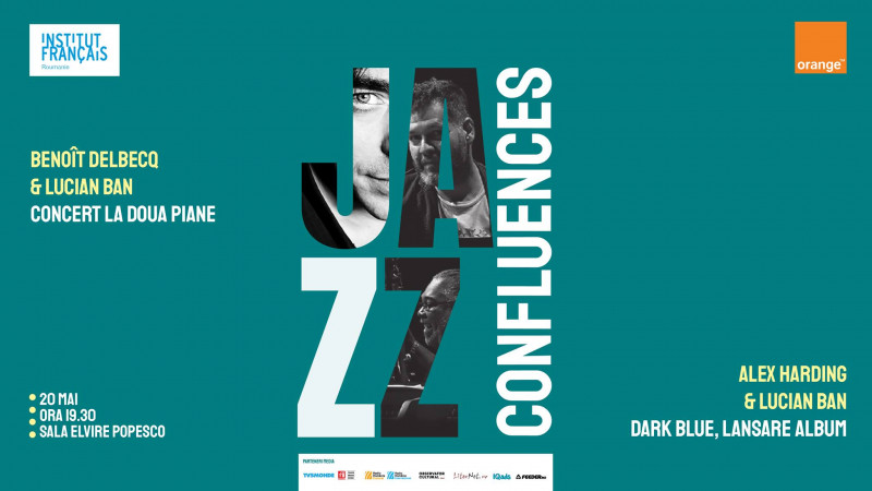 JAZZ Confluences – trei lumi într-un univers pentru iubitorii de Jazz   Sala Elvire Popesco